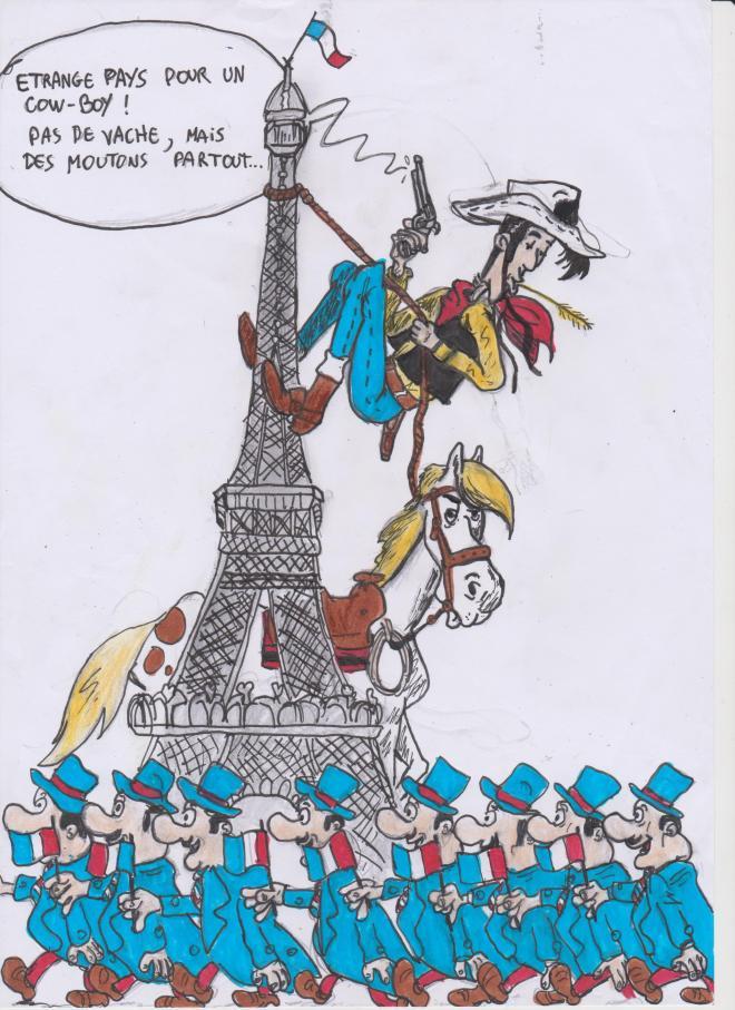 Un Cowboy à Paris